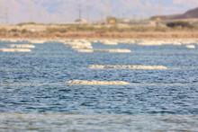 Salt Lumps In Dead Sea