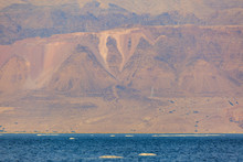 Jordanian Shore Of Dead Sea