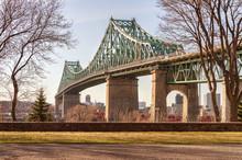 Jacques-Cartier Bridge In Mont...