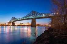 Jacques-Cartier Bridge And Sai...