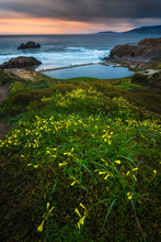 Sutro Baths Sunset, San Franci...