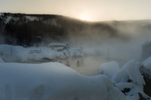 Chena Hot Spring In The Winter...