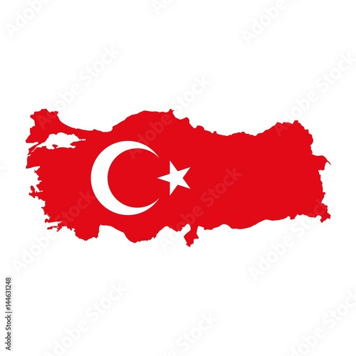 turkey map vector illustration Buy this stock vector and explore