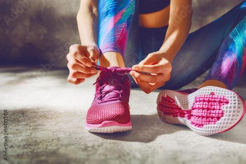 Fototapeta athletes foot close-up obraz