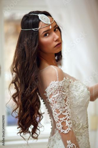 Plakát  Portrait of a beautiful bride