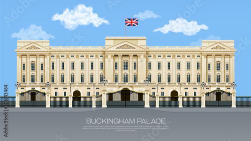 Canvas Print england buckingham palace