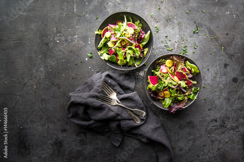 Photo  Watermelon Radish salad