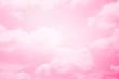 Leinwandbild Motiv fantasy soft cloud with pastel gradient color, nature abstract background