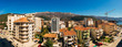 Budva, Montenegro, the view from the high-rise building in the city center