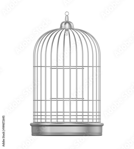 Photo Birdcage Isolated