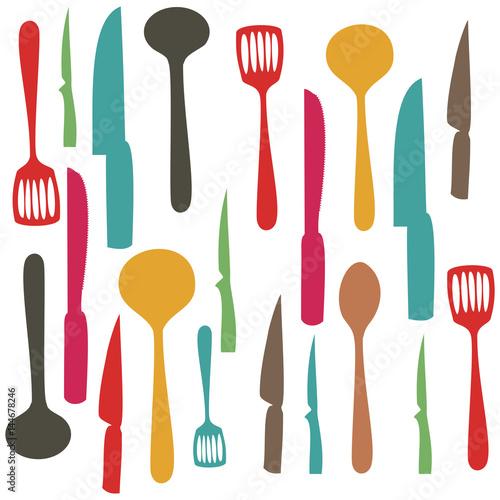 kolorowy-zestaw-wzor-naczynia-kuchenne-ilustracji-wektorowych