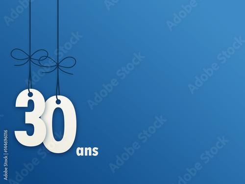 Fotografia  Icône Vecteur 30 ANS