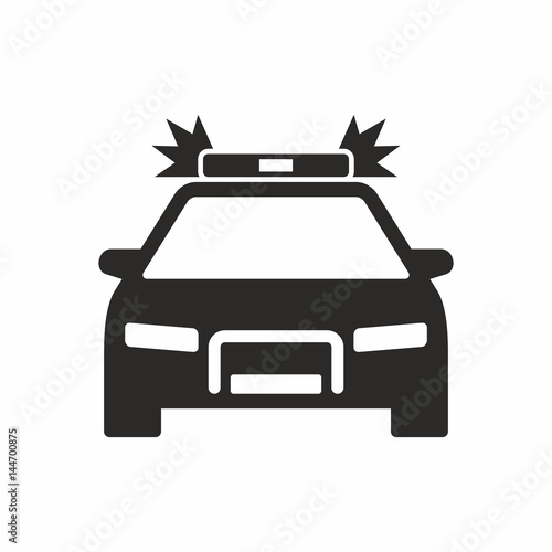Photo  Police car icon
