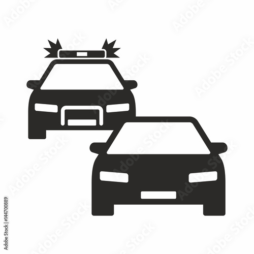 Photo  Car chase icon