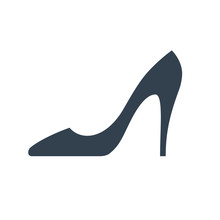 Lady's Shoe Icon.