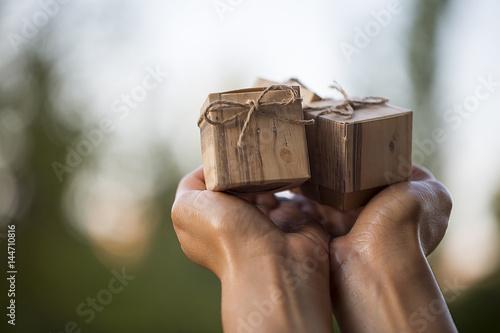 Cuadros en Lienzo Giftbox in Hand