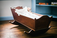Wooden Vintage Cradle
