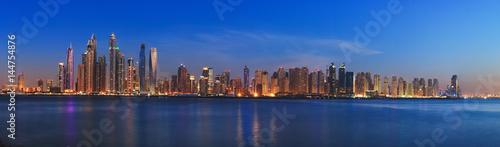 Dubai panorama skyline 9