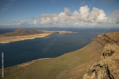 Foto op Aluminium Blauw La Graciosa , Isola di Lanzarote - Canarie