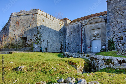 Staande foto Vestingwerk Fort St-André à Salins-les-Bains en France