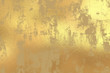 canvas print picture Gold grunge foil background
