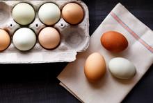 Fresh Organic Hen And Duck Eggs