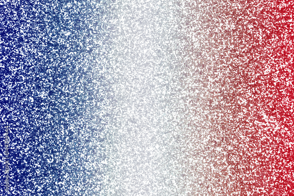 Photo & Art Print Red White and Blue Glitter Background Texture