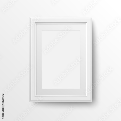 A3 And A4 Vertical Blank Picture Frame With Passepartout For