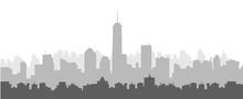 Morning New York Skyline
