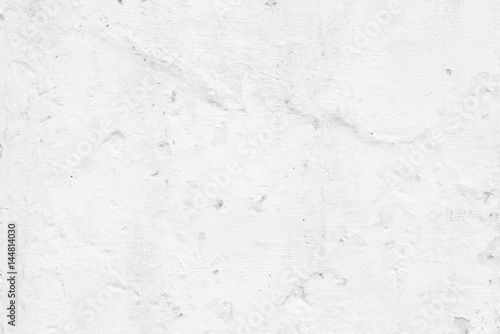 Tuinposter Betonbehang White Cement Wall Texture Background.