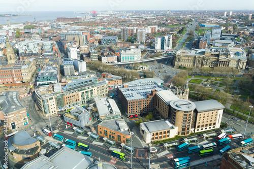 Foto op Aluminium Toronto Aerial view of Liverpool, England, UK