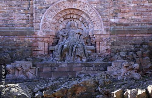 Kyffhauser Monument, Barbarossa, Emperor Frederick I Wallpaper Mural