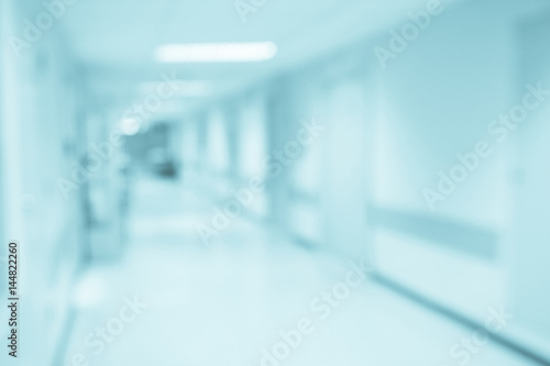 Fotografie, Obraz  Abstract blur hospital corridor defocused Medical background