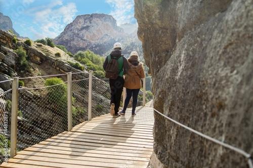 Hiking the Caminito del Rey - Spain Canvas Print