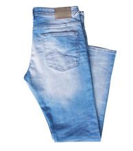 Denim Jeans Isolated On White Nobody.