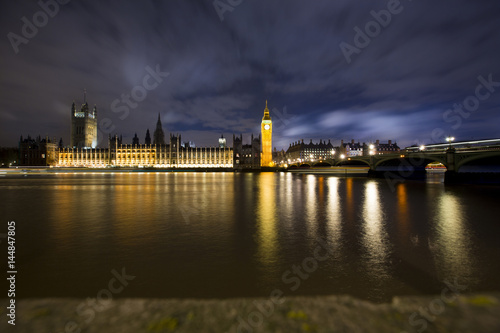 Big Ben And House Of Parliament London Uk Nocturne Image Buy