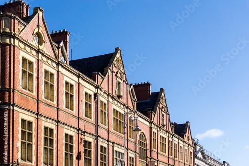 Zdjęcie XXL Tradycyjny antykwarski miasto budynek w Dublin Irlandia