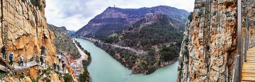 Fotografía Caminito del Rey and Valle del Hoyo, Desfiladero de los Gaitanes, Panorama
