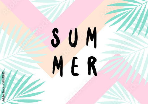 Photo  Summer Poster Design