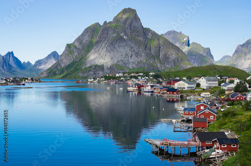 Staande foto Scandinavië Reine I Lofoten