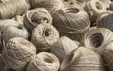 Background Of Coils Of A Rope ...