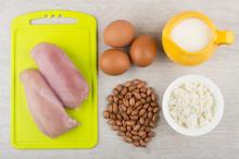 Chicken Fillet, Eggs, Dairy Pr...