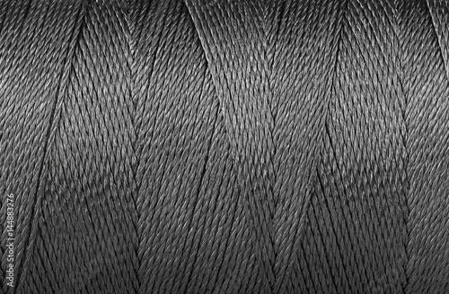 Fotografija Background close up blue thread texture