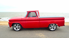 Classic Red  American Pickup T...