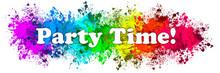 Paint Splatter Words - Party T...