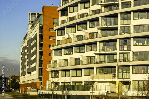 Wienerberg City, Moderne Architektur, Wohnhaus, Österreich, Wie