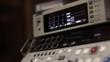 Old Analog tape to digital converter in film studio