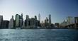 View of Manhattan Skyline.