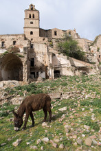 Ruins Of Craco, Basilicata Region, Italy