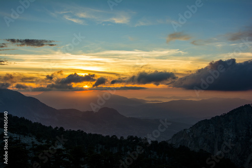 Photo  gün batımı